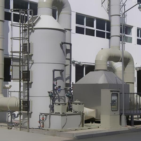 某电子厂废气处理项目
